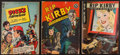"Movie Posters:Action, Rip Kirby & Other Lot (Dell Publishing, 1948-1949). Comic Books(3) (7.25"" X 10.25""). Action.. ... (Total: 3 Items)"