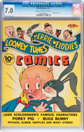 Golden Age (1938-1955):Cartoon Character, Looney Tunes and Merrie Melodies Comics #2 (Dell, 1941) CGC FN/VF7.0 Cream to off-white pages....