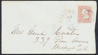 1860's General George Armstrong Custer Signed Envelope