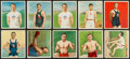 "Boxing Cards:General, 1910 T218 Mecca & Hassan ""Champion Athletes"" Collection (31)...."