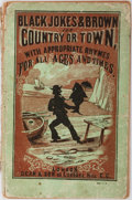 Books:Literature Pre-1900, [Humor] Black Jokes & Brown for Country or Town WithAppropriate Rhymes For All Ages and Times. Dean & Son, [no...