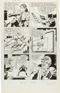 Original Comic Art:Panel Pages, Jack Kirby and Joe Simon The Fly #2 Page 22 Original Art (Archie, 1959)....