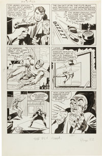 Jack Kirby and Joe Simon The Fly #2 Page 22 Original Art (Archie, 1959)