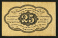 Fractional Currency:First Issue, Fr. 1282SP 25¢ First Issue Narrow Margin Back Very Fine.. ...