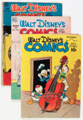 Golden Age (1938-1955):Cartoon Character, Dell/Gold Key Golden to Bronze Age Disney Duck Short Boxes Group(Dell/Gold Key, 1940s-70s).... (Total: 2 Box Lots)