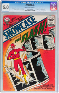 Showcase #4 Flash (DC, 1956) CGC VG/FN 5.0 Cream to off-white pages