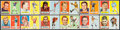 Football Cards:Sets, 1957 Topps Football Partial Set (125/154) With Unitas Rookie. ...
