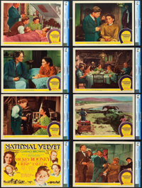 "National Velvet (MGM, 1944). CGC Graded Lobby Card Set of 8 (11"" X 14""). ... (Total: 8 Items)"