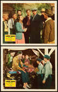 "Movie Posters:Drama, The Grapes of Wrath (20th Century Fox, 1940). Lobby Cards (2) (11""X 14"").. ... (Total: 2 Items)"