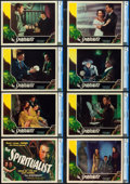 "The Spiritualist (Eagle Lion, 1948). CGC Lobby Card Set of 8 (11"" X 14""). Alternate Title: The Amazing Mr. X..."