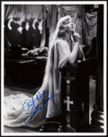 "Movie Posters:Adventure, Loretta Young in The Crusades by Elwood Bredell (Paramount, 1935).Autographed Photo (10"" X 13"").. ..."