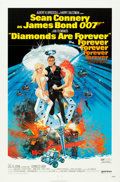 "Movie Posters:James Bond, Diamonds are Forever (United Artists, 1971). One Sheet (27"" X 41"").. ..."