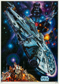 """Movie Posters:Science Fiction, Star Wars & Other Lot (20th Century Fox, 1978 - R-1982).Japanese B2 (20.25"""" X 28.75"""") & Japanese Programs (3) (10"""" X14.25""""... (Total: 4 Items)"""