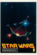 "Movie Posters:Science Fiction, Star Wars (Delos Film Buff Series, 1970s). Poster (25"" X 38"").. ..."