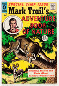 Silver Age (1956-1969):Adventure, Mark Trail's Adventure Book of Nature #1 (Pines, 1958) Condition: FN....