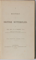 Books:Natural History Books & Prints, Reverend F. O. Morris. A History of British Butterflies. Groombridge and Sons, 1864. With many hand-colored illu...