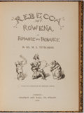 Books:Literature Pre-1900, Michael Angelo Titmarsh [pseudonym for William Makepeace Thackeray]. Rebecca and Rowena. Romance Upon Romance. C...