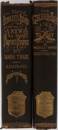 Books:Literature Pre-1900, Mark Twain. Two Works by Mark Twain. Including: The InnocentsAbroad, or the New Pilgrim's Progress. American Pu... (Total: 2Items)