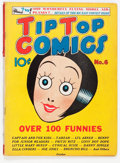 Golden Age (1938-1955):Miscellaneous, Tip Top Comics #6 (United Features Syndicate/Standard, 1936) Condition: VG/FN....