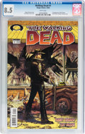 Modern Age (1980-Present):Horror, Walking Dead #1 (Image, 2003) CGC VF+ 8.5 White pages....