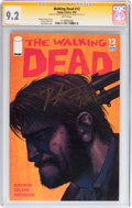 Modern Age (1980-Present):Horror, Walking Dead #12 Signature Series (Image, 2004) CGC NM- 9.2 Whitepages....