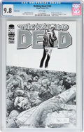 Modern Age (1980-Present):Horror, Walking Dead #100 Sketch Cover Variant (Image, 2012) CGC NM/MT 9.8White pages....