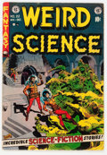 Golden Age (1938-1955):Science Fiction, Weird Science #22 (EC, 1953) Condition: VG....