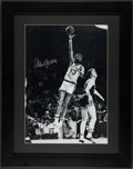 Basketball Collectibles:Photos, Kareem Abdul Jabbar Signed Oversized Photograph....