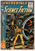 Golden Age (1938-1955):Science Fiction, Incredible Science Fiction #33 (EC, 1956) Condition: VG-....