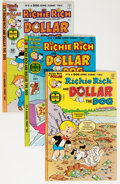 Bronze Age (1970-1979):Cartoon Character, Richie Rich and Dollar the Dog File Copy Group (Harvey, 1977-82)Condition: Average NM-.... (Total: 56 Comic Books)
