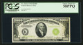 Small Size:Federal Reserve Notes, Fr. 2221-K $5,000 1934 Federal Reserve Note. PCGS Choice About New58PPQ.. ...