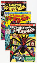 Silver Age (1956-1969):Superhero, The Amazing Spider-Man Group (Marvel, 1969-77) Condition: Average FN.... (Total: 51 Comic Books)