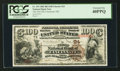 National Bank Notes:Ohio, Cincinnati, OH - $100 1882 Brown Back Fr. 519 The First NB Ch. # 24. ...