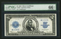 Large Size:Silver Certificates, Fr. 282* $5 1923 Silver Certificate PMG Gem Uncirculated 66 EPQ.....