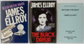 Books:Mystery & Detective Fiction, James Ellroy. Group of Three Books, Two British First Edition,First Printing. Various publishers. Because the Night is ...(Total: 3 Items)