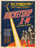 "Movie Posters:Science Fiction, Rocketship X-M (Lippert, 1950). Poster (30"" X 40""). From theCollection of Wade Williams.. ..."