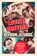 "Movie Posters:Black Films, Reform School (Million Dollar Productions, 1939). One Sheet (27"" X41"").. ..."