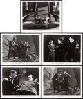 "Movie Posters:Horror, Son of Frankenstein (Universal, 1939). Portrait and Scene Photos(12) (8"" X 10"").. ... (Total: 12 Items)"