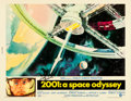 "Movie Posters:Science Fiction, 2001: A Space Odyssey (MGM, 1968). Autographed Half Sheet (22"" X28"").. ..."