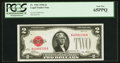 Small Size:Legal Tender Notes, Fr. 1501 $2 1928 Legal Tender Note. PCGS Gem New 65PPQ.. ...
