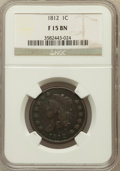 Large Cents: , 1812 1C Small Date Fine 15 NGC. NGC Census: (4/146). PCGSPopulation (9/185). Mintage: 1,075,500. Numismedia Wsl. Pricefor...