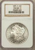 Morgan Dollars: , 1880-S $1 MS65 NGC. NGC Census: (31742/14435). PCGS Population(32778/11615). Mintage: 8,900,000. Numismedia Wsl. Price for...