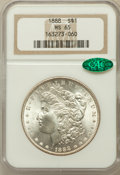 Morgan Dollars: , 1888 $1 MS65 NGC. CAC. NGC Census: (5652/1022). PCGS Population(3282/669). Mintage: 19,183,832. Numismedia Wsl. Price for ...