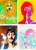 "Movie Posters:Rock and Roll, Beatles Special Look Magazine Prints by Richard Avedon (NEMSEnterprises, Ltd., 1967). Prints (4) (22.5"" X 31"" a... (Total: 4Items)"