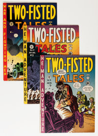 Two-Fisted Tales Group (EC, 1951-55) Condition: Average VG.... (Total: 12 Comic Books)