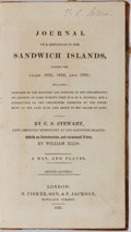 Books:Americana & American History, [Hawaii]. C. S. Stewart. Journal of a Residence in the SandwichIslands, During the Years 1823, 1824, and 1825. H. F...