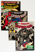 Silver Age (1956-1969):Superhero, The Amazing Spider-Man Group (Marvel, 1966-74) Condition: Average VG.... (Total: 59 Comic Books)