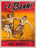 "Movie Posters:Western, The Outlaw (R-1960s). French Grande (42.5"" X 55.5""). Western.. ..."