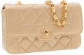 Luxury Accessories:Bags, Chanel Lambskin Leather Flap Bag with Gold Hardware. ...