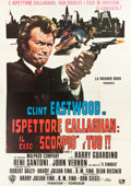 "Movie Posters:Crime, Dirty Harry (Warner Brothers, 1971). Italian 4 - Foglio (55"" X 78"")P. Franco Art.. ..."